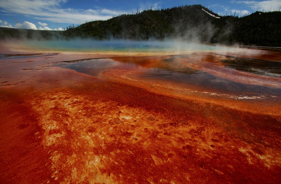 """The Grand Prismatic Spring"""